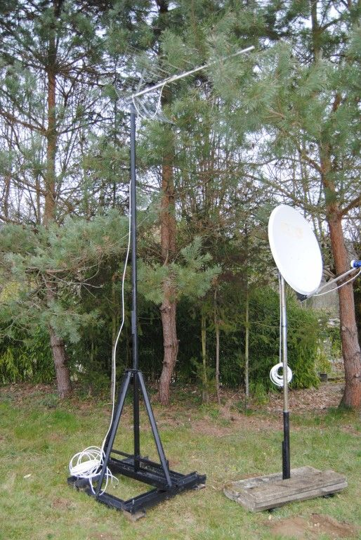 Supports antenne rateau et parabole - Orientation antenne rateau ...